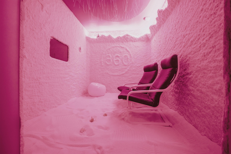 Folies 360 Bologna Beauty Spa Centro Estetico Dibi Spa Privata Stanza del Sale Haloterapia